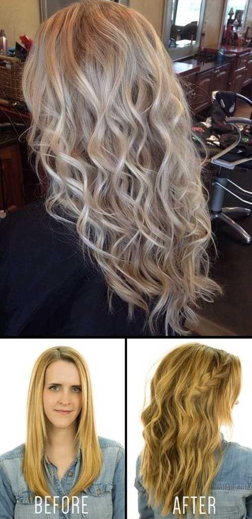 Wie sieht dauerwelle bei dunnen haaren aus