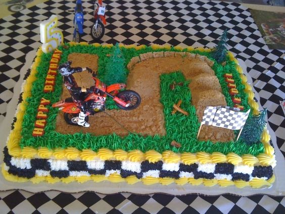 Motorcross Racing Theme For A 5 Year Old Home Decor