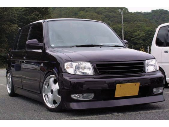 purple daihatsu cuore l701 with bodykit cuores. Black Bedroom Furniture Sets. Home Design Ideas