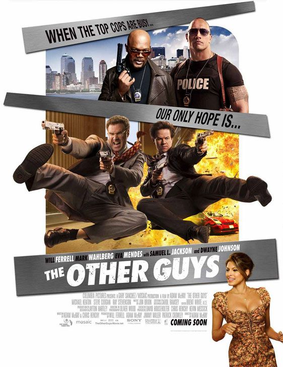 NEW Will Ferrell LICENSED The Other Guys Movie POSTER 27 x 40 Mark Wahlberg