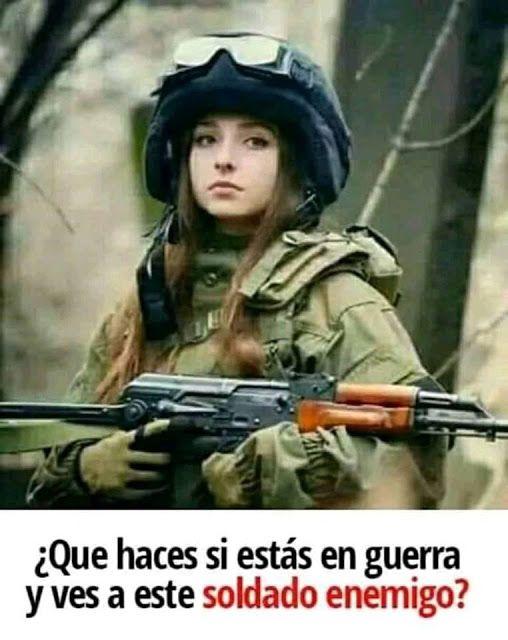 Bella Soldado Memes Warrior Person