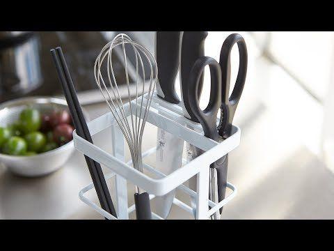 キッチンツールをまとめてスッキリ収納 キッチンツール ナイフ