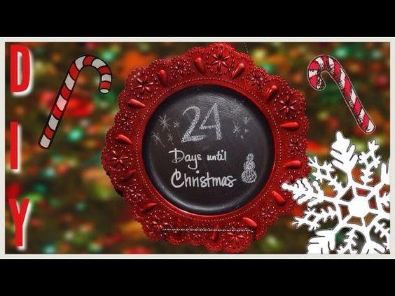DIY Christmas Countdown Charger