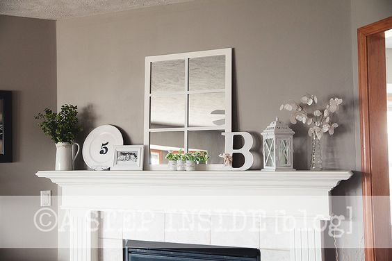 Winter Spring Mantel Decor Home Goods Hobby Lobby Finds My Personal Blog Pinterest: home goods decor pinterest