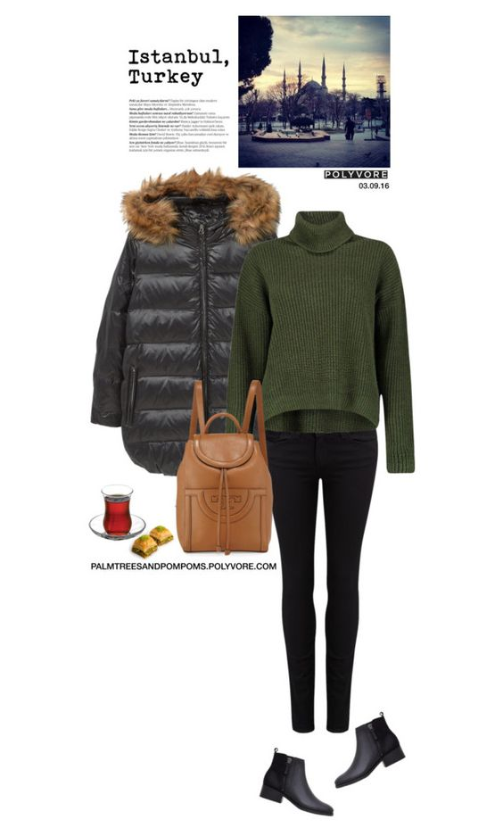 """""""03.09.16 / Mango Hooded Feather Coat"""" by palmtreesandpompoms ❤ liked on Polyvore featuring MANGO, Paige Denim, Boohoo, Tory Burch and Balmain"""