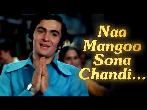 Naa Mangoo Sona Chandi Bobby Rishi Kapoor Bollywood Evergreen Songs Laxmikant Pyarelal Youtube In 2020 Evergreen Songs Hindi Movie Song Kishore Kumar Songs