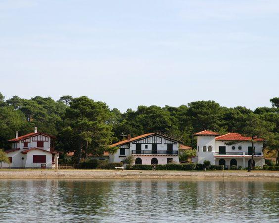 Maisons près du lac d'Hossegor #landes #hossegor #lac #nature #lake #house