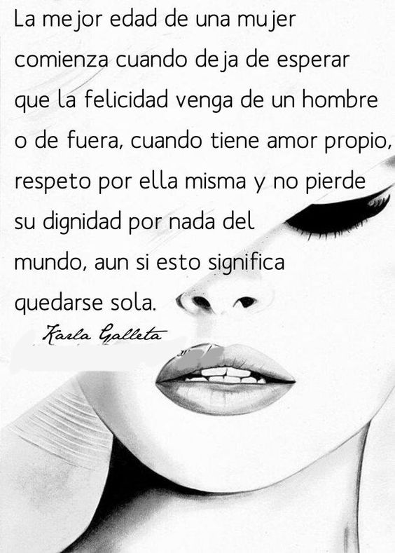 〽️ La mejor edad de una mujer...