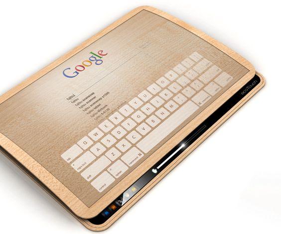 EcoPad tablet concept   Designers: Jun-se Kim, Yonggu Do & Eunha Seo