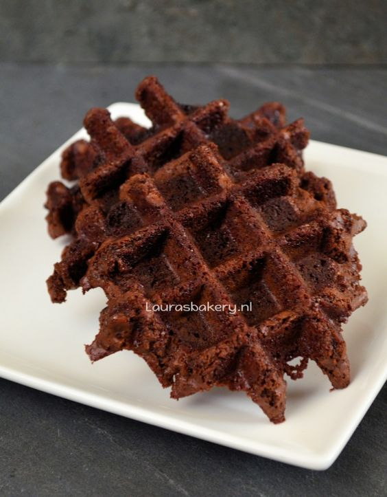 Brownie wafels - Laura's Bakery