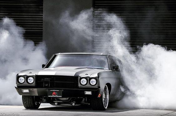 70 Chevelle. brushed/matte grey vinyl wrap, and a complete custom interior and audio system in this machine! carbon fiber. rushforth split 5 star wheels 454. black painted bumpers, burnout