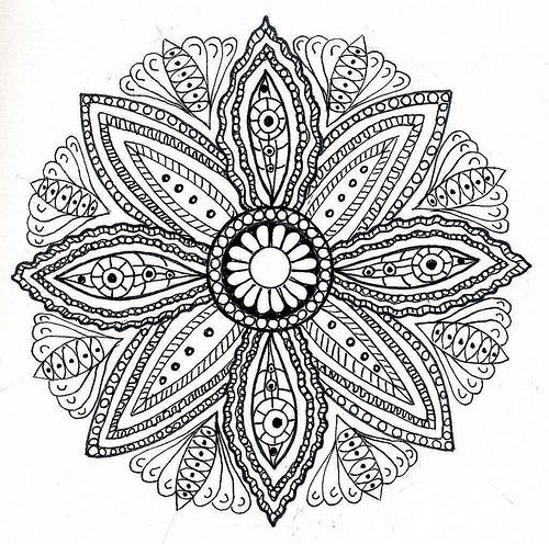 Mandalas amour and citations on pinterest - Mandala amour ...