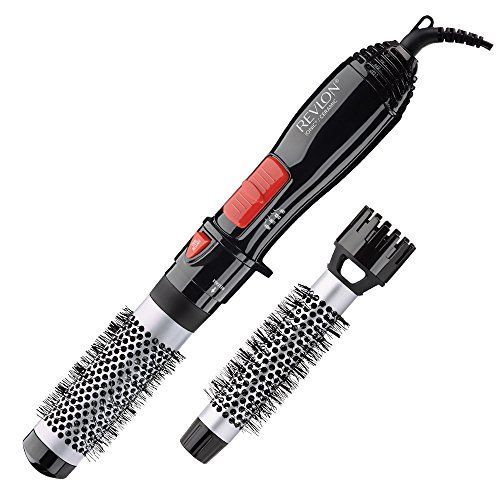 Revlon Ceramic Hot Air Brush Kit With 1 Inch 1 1 2 Inch Brush Attachments In 2020 Styling Brush Brush Kit Revlon Hair Dryer Brush