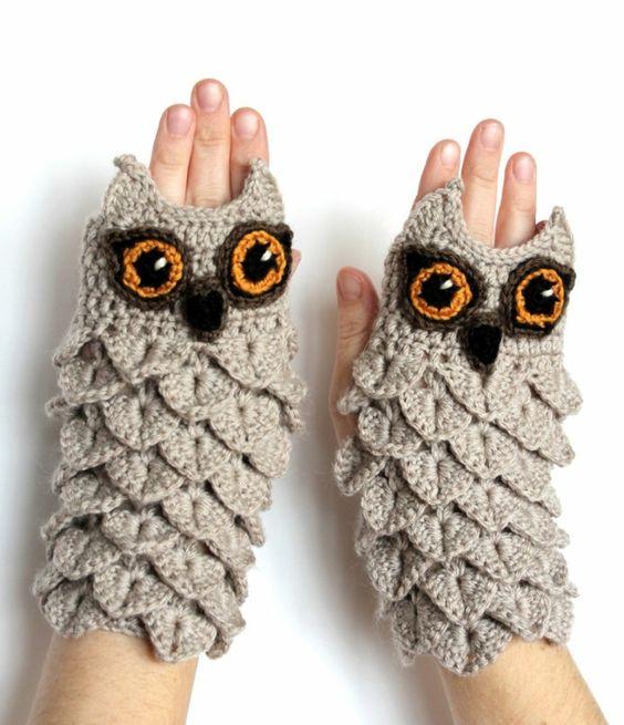 Handschuhe stricken - originelle und ausgefallene Ideen - http://freshideen.com/diy-do-it-yourself/handschuhe-stricken.html