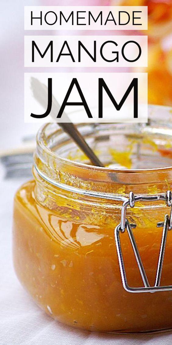 Homemade Mango Jam Recipe – Step by Step Recipe