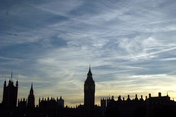 Londres ao anoitecer