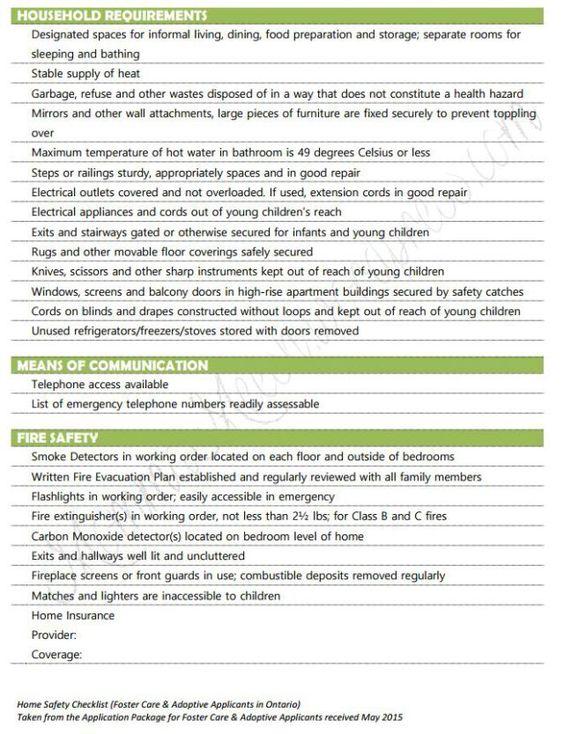 Best  Home Safety Checklist Ideas On   Safety