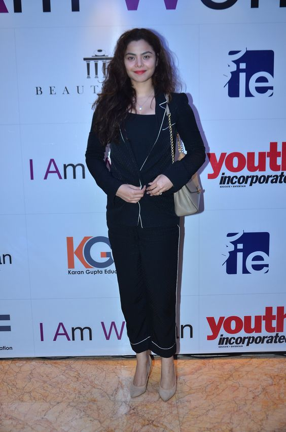 Konkana Bakshi at the I Am Woman event