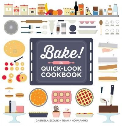 Baking expertise explained, one step at a time. The latest installment from the bestselling Show Me How authors comes Bake! The Quick-Look Cookbook. This concise, step-by-step guide is your easy-to-fo