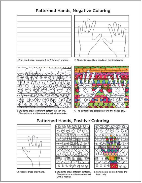 Warm Hands with a Heart | EDU Arts | Pinterest | Art lessons, School ...