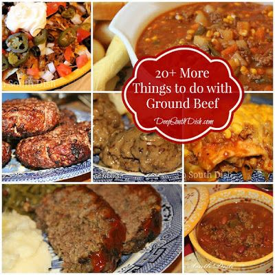 Top 28 things to make with ground beef for dinner Something different to make for dinner