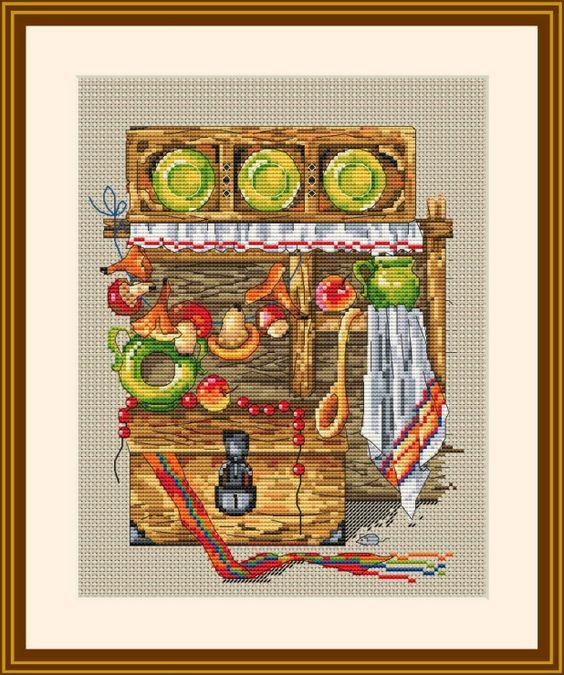 Gallery.ru / арт. К-09 - Дизайны ТМ Мережка - в продаже! - merejka