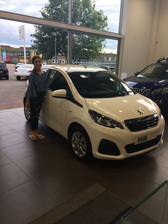 Natalie Was Super Happy To Pick Up Her New Peugeot 108 On 0
