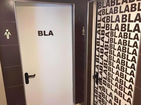 Los 20 letreros para baños más originales