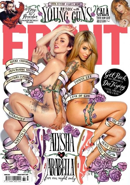 Front Magazine Cover