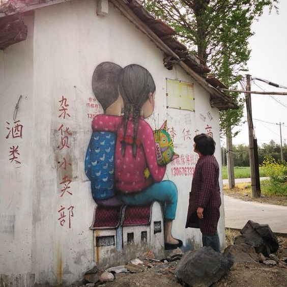 Tales from the countryside, part 2, Fengjing, China seth Globepainter artist