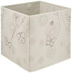 WENKO 64008100 Aufbewahrungsbox Butterfly , 100% Polypropylen, 32 x 32 x 32 cm, Beige, http://www.amazon.de/dp/B00URLQRSG/ref=cm_sw_r_pi_awdl_Qa1fxbXR6ERA1