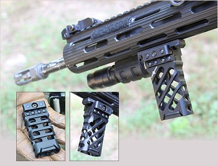 Viking tactics ultra light vertical grip for your ar