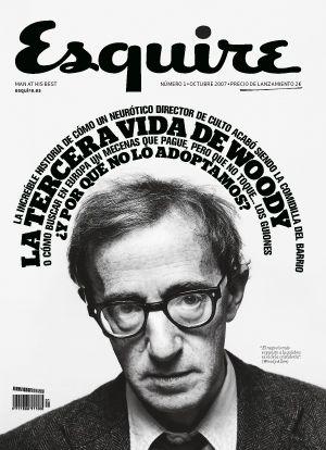 Woody Allen Esquire Cover