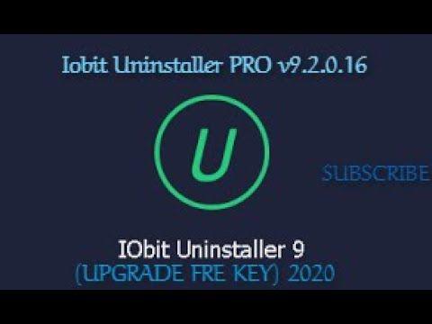 Iobit Uninstaller Pro V9 2 0 16 Upgrade Key 2020 Free Download Retail Logos Speed Up Computer