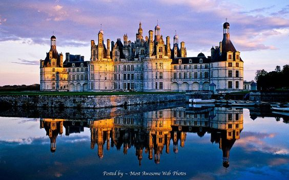 Château de Chambord, Centre, France (Loire Valley) Bruno Morandi-The Image Bank-Getty Images
