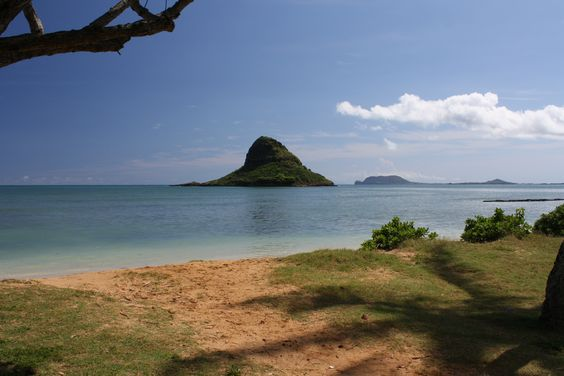The China Man's Hat on Oahu