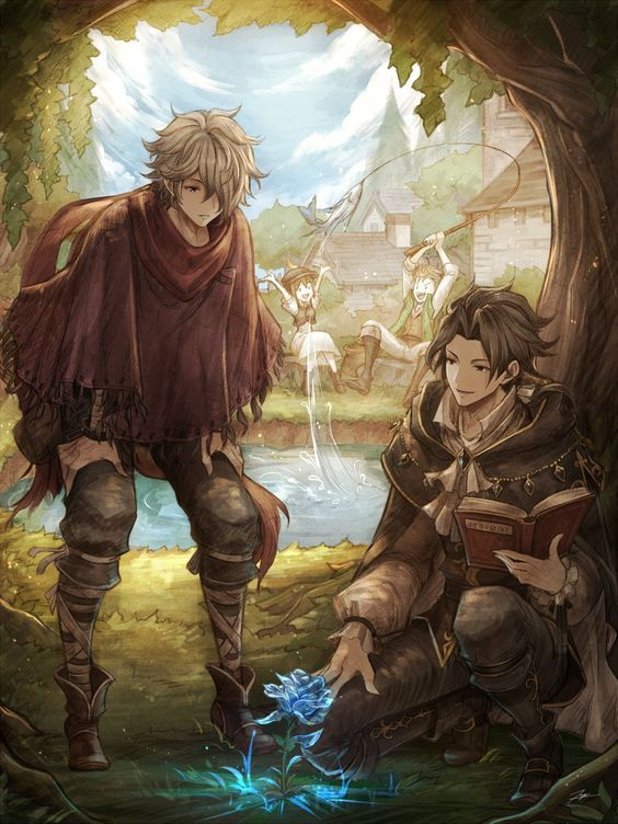 Octopath Traveler Therion Cyrus Octopath Therion Cyrus Octopath Traveler Traveler Wallpaper Art