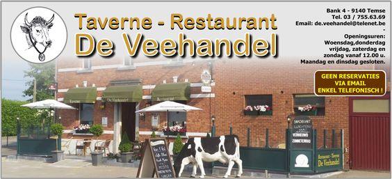 DE VEEHANDEL | Taverne en Restaurant te Temse