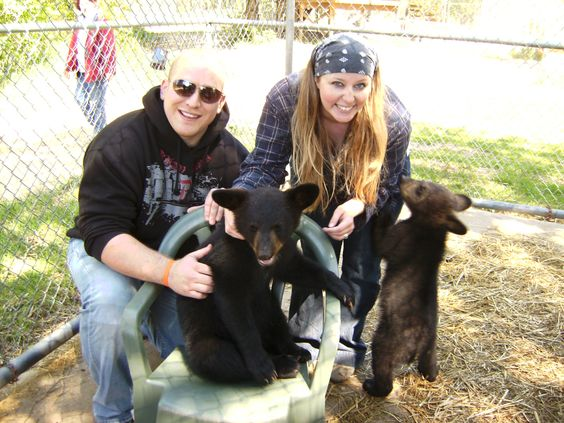 Play with Baby Bears at Oswald's Bear Farm in Michigan's UP