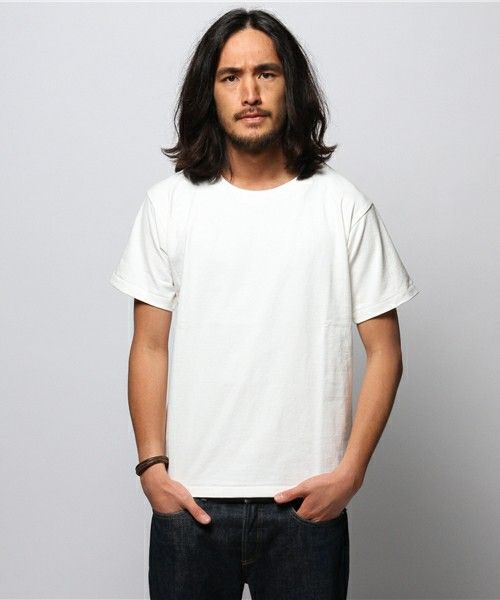 J.S Homestead  カットダウンTシャツ  ¥5,400 ⇒古いの?http://zozo.jp/shop/journalstandard/goods/4354346/?did=14414573
