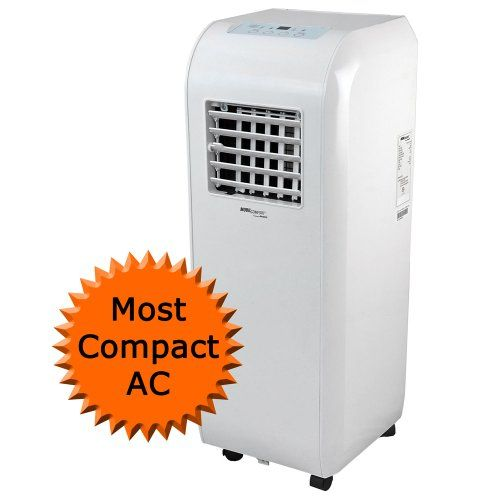 http://dehumidifiersystems.com/mobilcomfort-ky-80-8000-btu-portable-evaporative-ac-and-dehumidifier/ Our evaporative portable a/c unit offers a 38.4 pint dehumidifier  that reduces unwanted moisture  using our unique evaporative process, by removing moisture from the air and drips onto the condenser.  The condenser evaporates the water and exhaust it out of the exhaust hose with the hot air.  If the water is not fully evaporated it is dripped int...