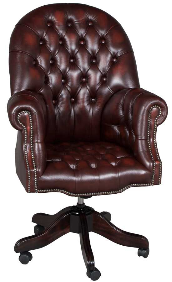 Tufted Leather Office Chair Tufted Leather Chair Chair Upholstered Office Chair