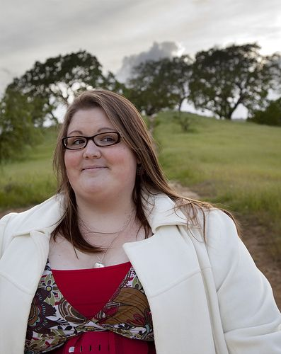 """""""Hello! My name is Nicole and I'm fat....I'm also an advocate for fat/size acceptance and Health At Every Size.  As far as clothes go, I typically wear a 28-30 (US). Being on the higher end of plus sizes, it can definitely be a challenge to find cute clothes on a budget!"""" - HAES/Plus fashion blogger"""