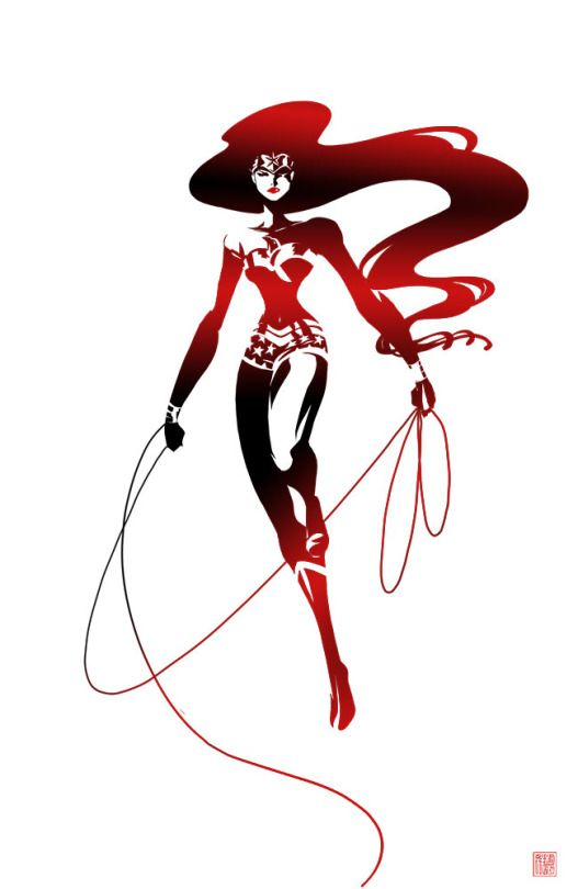 Wonder Woman by Sho Murase
