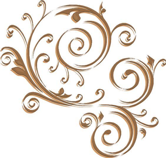 Swirls png | gold_swirl_png.png | Swirls | Pinterest | Swirls