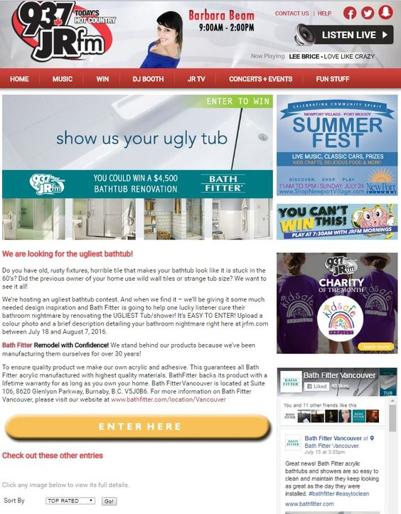 bath fitter vancouver careers. details at: http://www.jrfm.com/ugliesttub/browse.aspx | bath fitter® vancouver events pics pinterest tubs and fitter careers