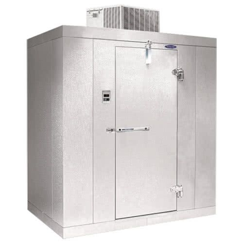 Nor Lake Klb8488 C Kold Locker 8 X 8 X 8 4 Floorless Indoor Walk In Cooler Walk In Freezer Storage Storage Spaces