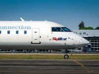 N431SW (cn 7536)  Delta Connection (SkyWest Airlines) Bombardier CRJ-200LR…