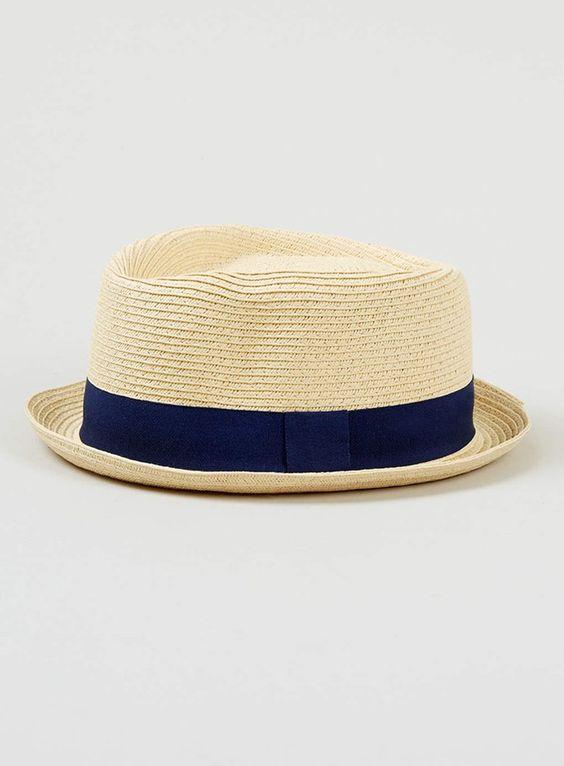 Pin for Later: 15 idées de cadeaux super sympas pour la Fête des Pères ! Chapeau de paille Topman Pour qu'il se protège du soleil cet été tout en restant élégant et tendance, offrez-lui ce Topman straw hat ($28), il ne le quittera plus.