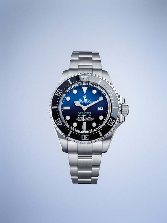 Equipped with an exclusive Ringlock system and a 5mm-thick sapphire crystal, the Rolex Deepsea dive watch is built to withstand massive pressures exerted by water at depths of 3,900m, which is roughly equivalent to placing an object of three tonnes on the